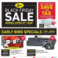 Leon's - Black Friday Sale Flyer