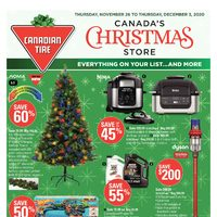 Canadian Tire - 8 Days of Savings - Canada's Christmas Store Flyer