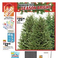 Home Depot - Weekly - Make This Season Bright Flyer