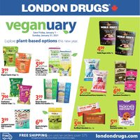 London Drugs - Veganuary Flyer