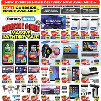 Factory Direct - Massive Inventory Sale! Flyer