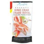 Longos: Aquastar Frozen King Crab Legs 500g or Frozen Raw