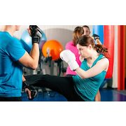 $18 for Five Cardio Kickboxing or Fit for Fighting Classes ($90 Value)