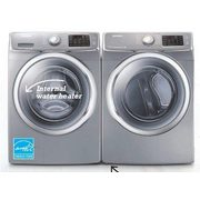 Samsung 4.8 Cu. Ft. Washer With Steam/7.5 Cu. Ft. Dryer With Steam Dry  - $1796.00 ($100.00 off)