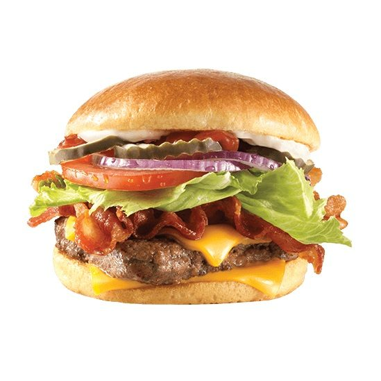 Wendy's Wendy's: Get a Bacon Deluxe Quarter-Pound Burger for Only $4.00 Get a Bacon Deluxe Quarter-Pound Burger for $4!
