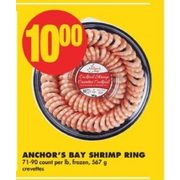 Anchor's Bay Shrimp Ring  - $10.00