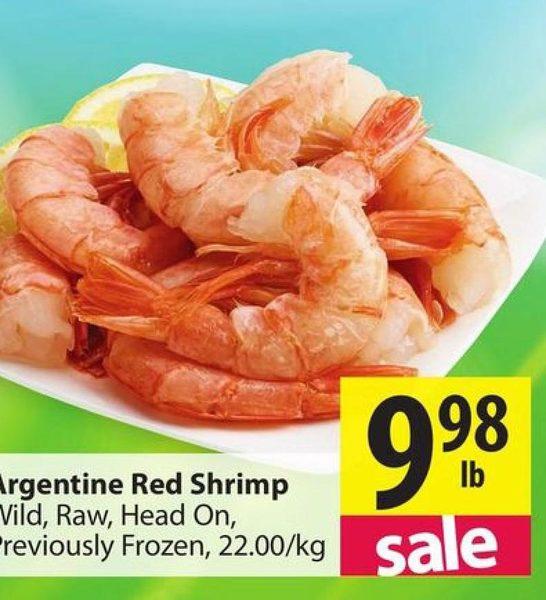 Pricesmart Argentine Red Shrimp Redflagdeals Com