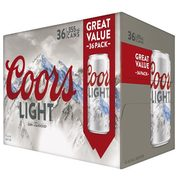 MOLSON - COORS LIGHT CAN - $45.99 ($5.00 Off)