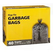Outdoor Garbage Bags, 40-pk - $3.49 ($3.50 Off)