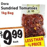 Dora Sundried Tomatoes - $9.99 (50% off)