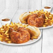 Swiss Chalet 2 Can Dine: Get Two Quarter Chicken Dinners for $15.99 (Dine-in) or $19.99 (Delivery)