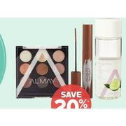 Almay Face or Eye Cosmetics or All Makeup Removers - 20% off