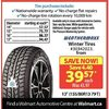 "Weathermaxx Winter Tires - 13"" - $39.57 ($4.40 off)"