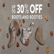 Famous Footwear: Up to 30% off Boots and Booties