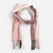 Rectangular Scarf With Elongated Tiles - 2/$35.00