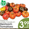 Heirloom Tomatoes - $3.99/lb