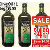 Allegro Extra Virgin Olive Oil  - $4.99 ($4.00 off)