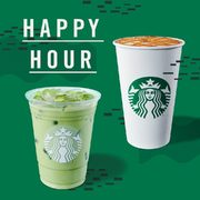 Starbucks Happy Hour: Buy One, Get One FREE Frappuccinos and Handcrafted Drinks After 2:00 PM, Today Only
