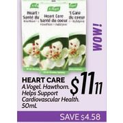 A. Vogel Heart Care - $11.11 ($4.58 off)