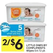 Little Ones By Compliments Wipes - 2/$6.00