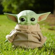 "Amazon.ca: Get the Star Wars Baby Yoda 11"" Plush Now for $37.24 with FREE Shipping"