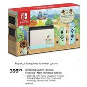 Nintendo Switch Animal Crossing:New Horizons Edition - $399.99