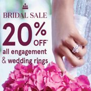 People's Jewellers Bridal Sale: 20% off All Engagement & Wedding Rings