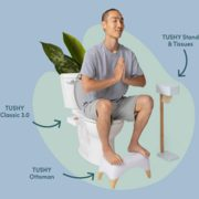 TUSHY: $209 The All-in-One Toileting Method Tushy System