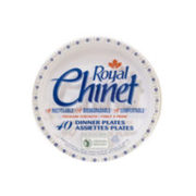 Royal Chinet Dinner Plates  - $6.48 ($1.50 off)