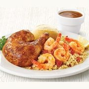 Swiss Chalet Spring Special: Quarter Chicken w/Sautéed Shrimp, Choice of Side & More $9.99 (Dine-In)
